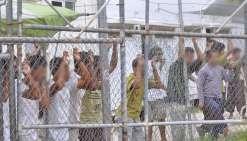 Le camp australien de Manus détruit