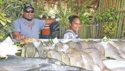 Le grand marché de la mer a fêté son 15e anniversaire à Goro