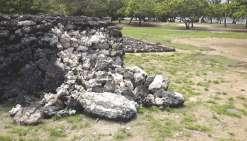 Taputapuatea, bientôt plus qu'une ruine