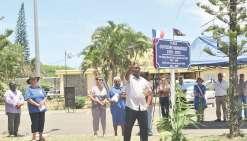 La place de la mairie porte  le nom de Guyèdre-Wamedjo