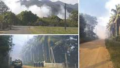 Plusieurs incendies dans le Grand Nouméa