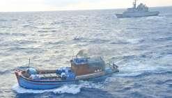 Deux blue-boats vietnamiens interceptés au large de Bélep