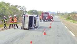 Quatre blessés dans un accident à La Foa
