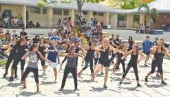 L'année scolaire s'achève au collège avec des prix et des danses