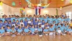 Les enfants de CM2 récompensés pour leur travail