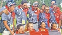 Les golfeurs survolent la compétition