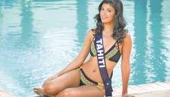 Miss Tahiti se confie