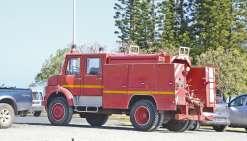 Vends vieux camion de pompier