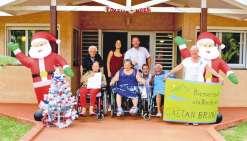 Marché de Noël à la résidence Gaëtan-Brini
