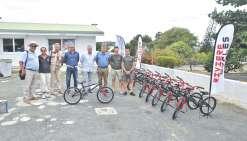 Dix vélos pour la Prévention routière