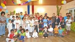 Quatre-vingt-cinq jeunes  sportifs récompensés