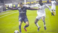 Le PSG face à Rennes