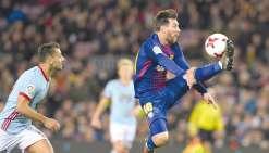 Barcelone surclasse le Celta Vigo
