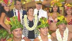 Annick Girardin à Tahiti pour une semaine
