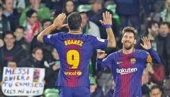 L'intenable Messi salué par le public adverse