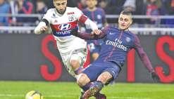 Lyon ralentit Paris