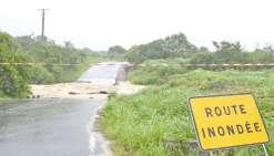 La victime, une femme de 56 ans, a tenté de traverser un cours d'eau en crue  le week-end dernier.