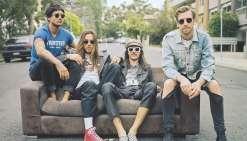 Les Australiens de The Velvet Addiction seront à l'affiche le samedi 26 mai.