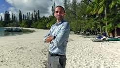 Le nouveau directeur Jérémy Martin est originaire du Lubéron. Il est en Calédonie depuis mai 2017. Photo KP
