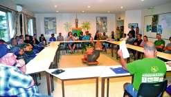 Une trentaine de personnes ont assisté à cette réunion mercredi à la mairie.Photo C.O.