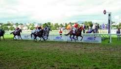 Parmi les 12 chevaux qui s'élanceront dimanche, seul Bounty Star (ici à droite), vainqueur en 2016, a déjà remporté la Coupe Clarke. Archives LNC Sports/G.Caprais