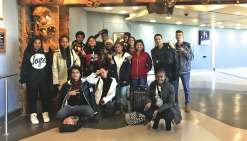 Les lycéens de Poindimié sont partis pour dix jours.Photo DR
