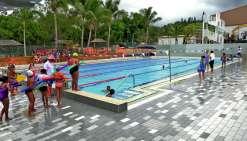 Le grand bassin est accessible aux scolaires et au public, du lundi au vendredi.Photo E.J.