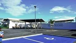 Le lycée Michel-Rocard sera fermé à partir du 21 décembre. Photo K.B.