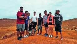 Echanges bilingues, baignade à la cascade de Ciu, visite d'un site minier et découverte de la vie en tribu étaient au menu des élèves fidjiens accueillis au collège de Canala. Le séjour s'est achevé à Nouméa par des activités de plein air mais aussi la vi