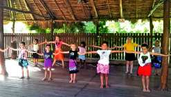 Deux groupes sont proposés : de 5 à 11 ans, et ados et adultes. Photo K.B.