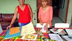 Le projet de cousinade a été lancé au domicile de Nicole Bernanos. Photo E.J.
