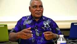 Le père Apikaoua est également administrateur  de la cathédrale de Nouméa. Photo Thierry Perron