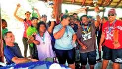 L'association a participé et remporté le grand prix handisport et sport adapté, qui a eu lieu fin novembre l'année dernière à Cap Poé.Photo Archives