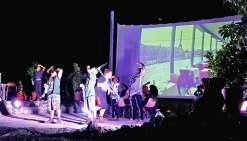 Un week-end complet dédié aux Nuits des musées a eu lieu à l'écomusée du Café, à Voh. Un samedi découverte avec des dégustations proposées par le globe-trotter spécialiste du café, Erick Goujon, puis une soirée son et lumière. Simane (danseur slameur) et