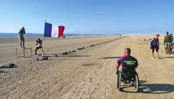 Vincent Dorival prévoit de traverser la Vallée de la mort du Nord au Sud. Photo DR