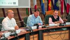 Thierry Santa a ouvert la séance à laquelle participaient des autorités de Wallis, de Polynésie et de Pitcairn.Photo  Cyril Terrien