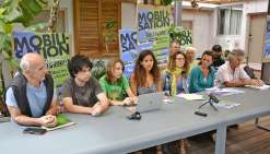 Le mouvement Allons plus loin s'adresse à toutes les générations, mais les jeunes en sont les figures de proue.Photo Thierry Perron