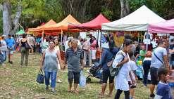 Le public est venu nombreux à ce grand rendez-vous annuel. Une occasion de faire le plein de produits frais de la ferme et de passer un moment agréable à l'abri des palmiers royaux. « Après trois ans à Bourail, le marché est de retour à Moindou, et tout s