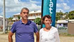 Frédéric Lalève et Gyslène Dambreville ont décidé de quitter le groupe Intérêt communal pour rejoindre Générations NC. Photos NB
