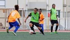Jackie Pahoa a éclairé le jeu de l'Asaf samedi après-midi au stade  du PLGC, à Nouméa. Photo Alain Vartane