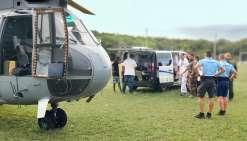 Les équipages de l\'armée de l\'air stationnés sur la base aérienne de La Tontouta sont qualifiés et entraînés pour voler dans des conditions extrêmes, notamment de nuit. Ils permettent régulièrement de porter secours à la population.Photo Fanc
