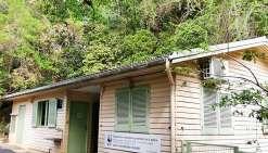 Situé au cœur du parc zoologique et forestier de Nouméa,  le local du WWF a été cambriolé trois fois en quatre mois. Ph. WWF NC