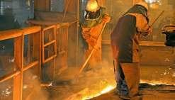 Il faut remonter bien loin dans le passé pour retrouver une telle production, autour de 47 000 tonnes de nickel sous forme de ferronickel. Photo Archives LNC