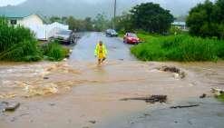 Intempéries : radiers et routes rouverts à Dumbéa et à Païta