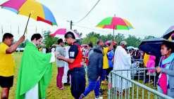 Cinq cents jeunes fidèles rassemblés à Téné