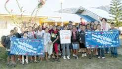 Les collégiens remportent le jeu du Pacifique