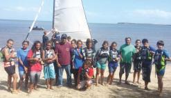 Pleine voile sur le trophée des jeunes marins