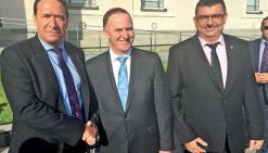 Le Caillou développe sa diplomatie économiqueà Auckland