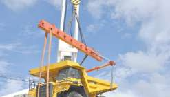 2 500 tonnes d'engins neufs