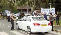 EPLP mobilisée contre le charbon